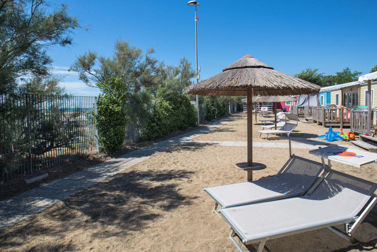 MobilHome Venice Sea View - camere vista mare - Villaggio San Francesco (Caorle, VE)
