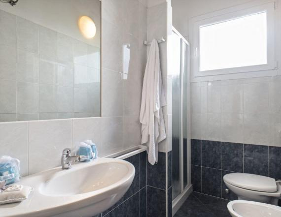 chalet m50 residence pet bagno